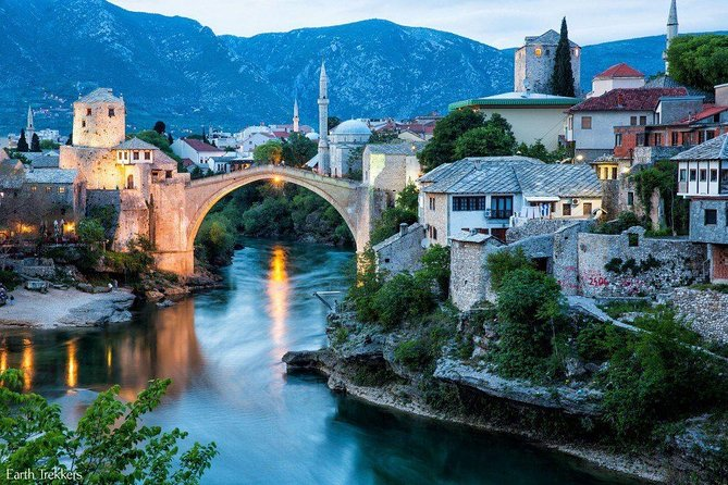Sarajevo to Dubrovnik Day Trip via Mostar-Blagaj-Pocitelj and Kravice waterfalls