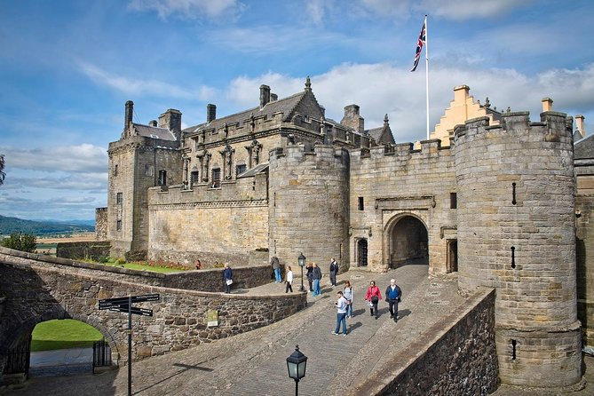 Stirling Castle, the trossachs and hairy coo's