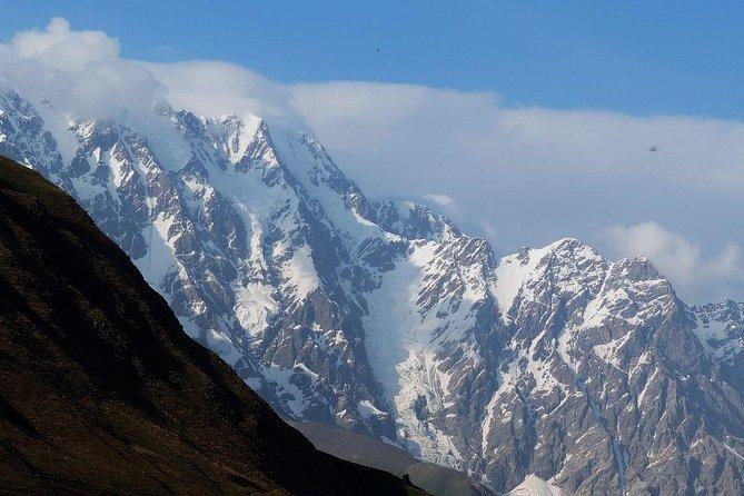 Shkhara glacier trekking from Ushguli