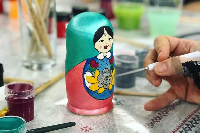 Matryoshka doll painting master class photo 1