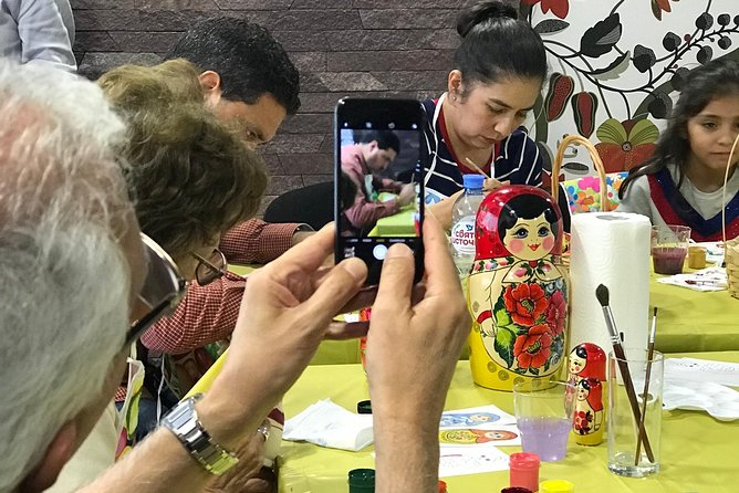 Matryoshka doll painting master class photo 2