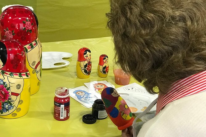 Matryoshka doll painting master class photo 3