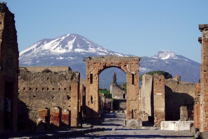 Transfer Fiumicino FCO Airport dropoff Sorrento with Pompeii Ruins Tour option photo 8