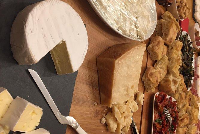 Top of Tasting rare Cheese, unique Salami Wine