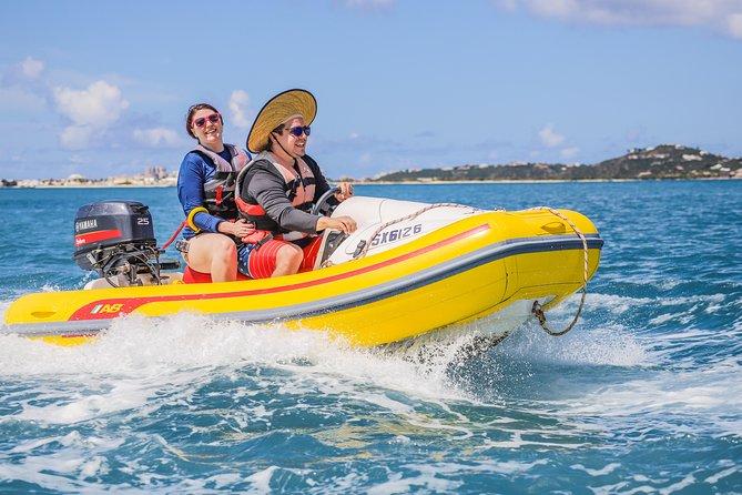 Mini Speed Boat Lagoon Tour & Caribbean Lunch