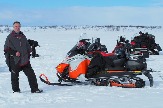 Snowmobile safari in the mountain plateau of Finnmarksvidda photo 9