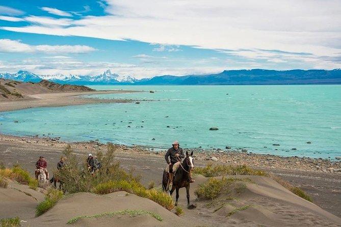 Horse Riding in Estancia La Estela & Rafting on Viedma Lake