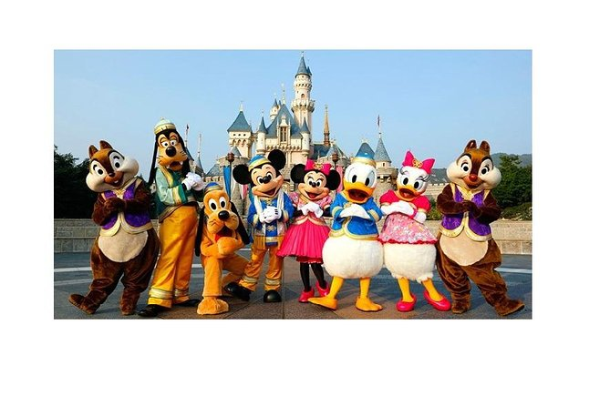 Transfer from Paris Orly ORY Airport to Disneyland Paris photo 1