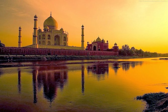 Sunrise Tajmahal With Fatehpur Sikri & Abhaneri Step Well's From Agra To Jaipur