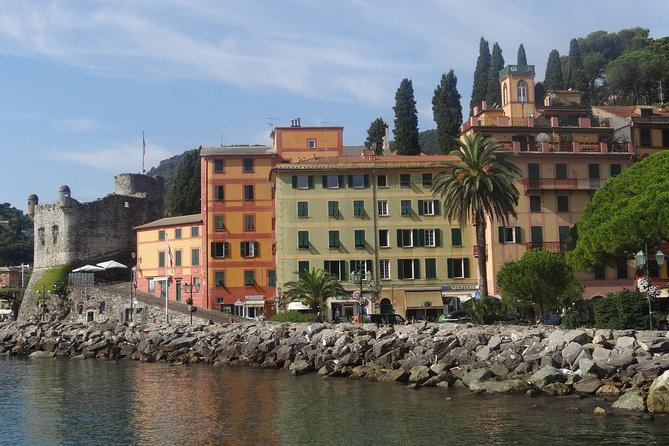 Private Tour to Portofino and Santa Margherita from Genoa Cruise Port or Hotel