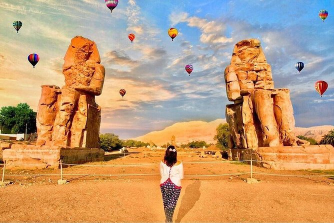 Sunrise VIP Luxury Hot Air Balloon in Luxor