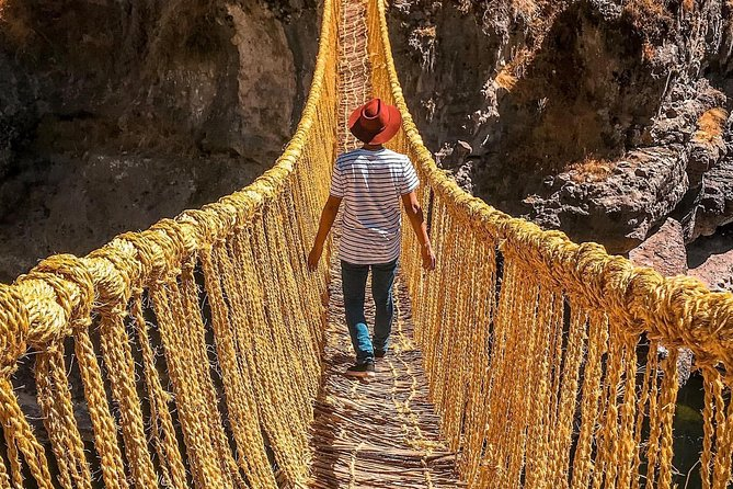 Cusco: Full day tour of Qeswachaka Inca Bridge