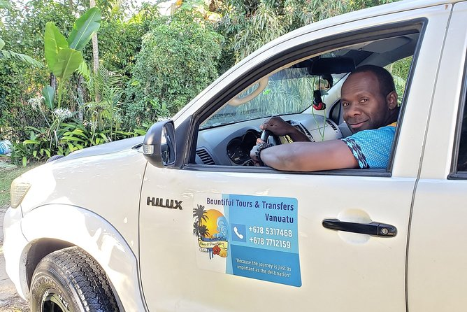 Private Hilux Hire in Vanuatu with Driver