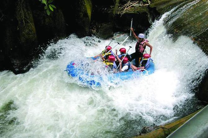 Full-Day Rafting Adventure in Melangit River and Ubud Tour