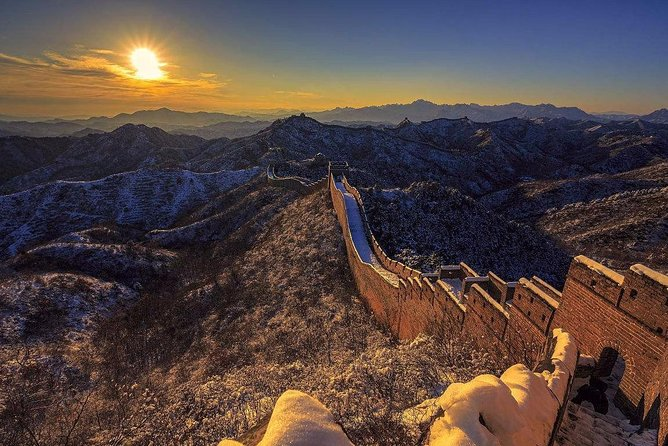 Beijing Sunset Experience at Huanghuacheng Waterside Great Wall