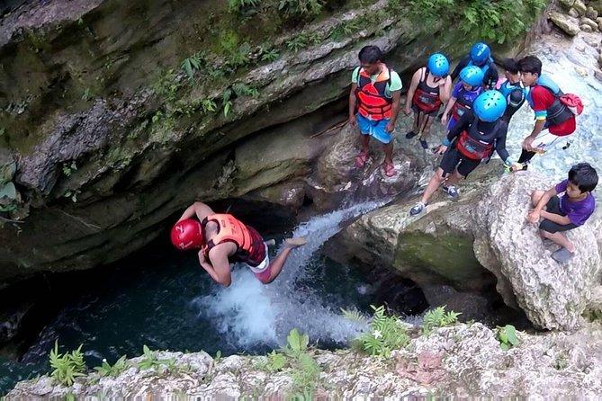 Kawasan Canyoneering Activity Package Meetup or Pickup