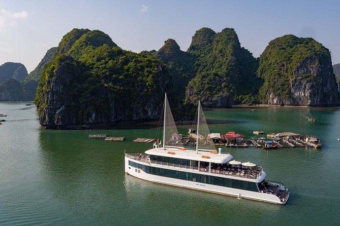 Jadesails - Daytour de luxo em Halong Bay e Lan Ha Bay
