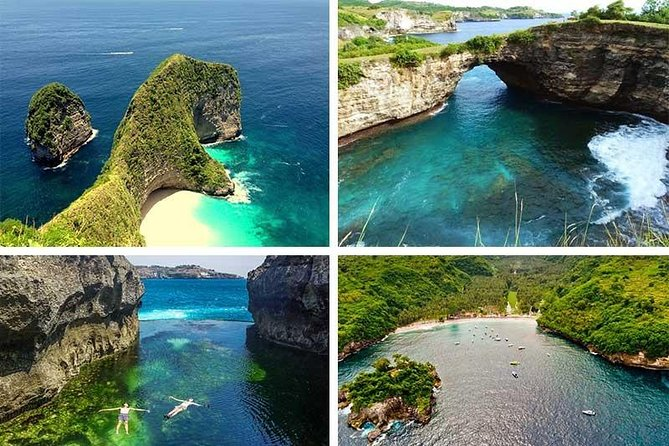 One day trip from Bali to Nusa Penida.