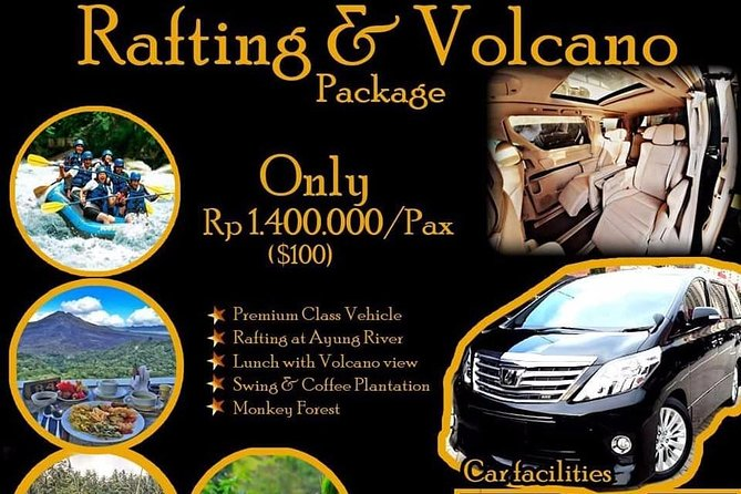 Rafting and Volcano Package