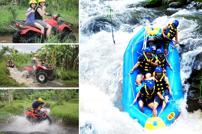 Ayung River Rafting and ATV Ride Adventure