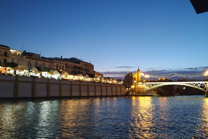 Bullring and the Torero district of Triana