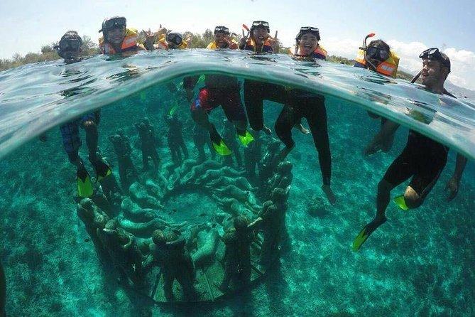 Snorkeling (Depart Gili T),Gili Trawangan, Gili Meno,