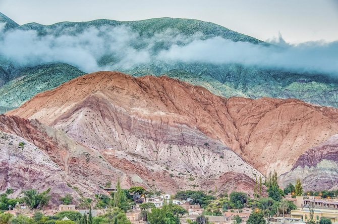 Humahuaca with the 7-color hill