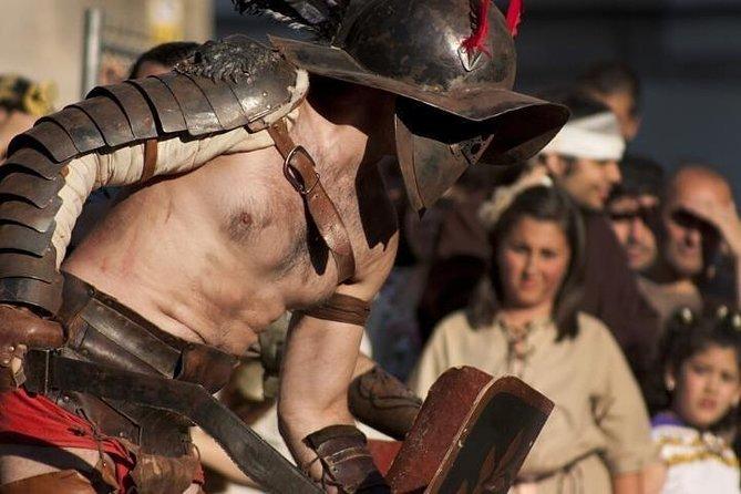 ROME GLADIATORS: Participate to a gladiators&legionaries training reconstitution