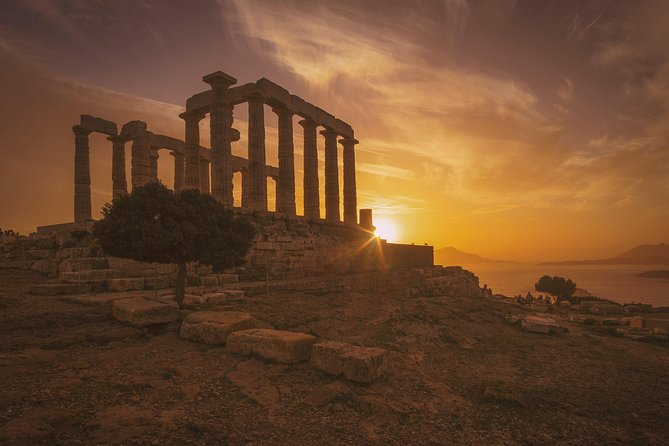 Athens and Sounio full day tour by car/luxury minivan/minibus