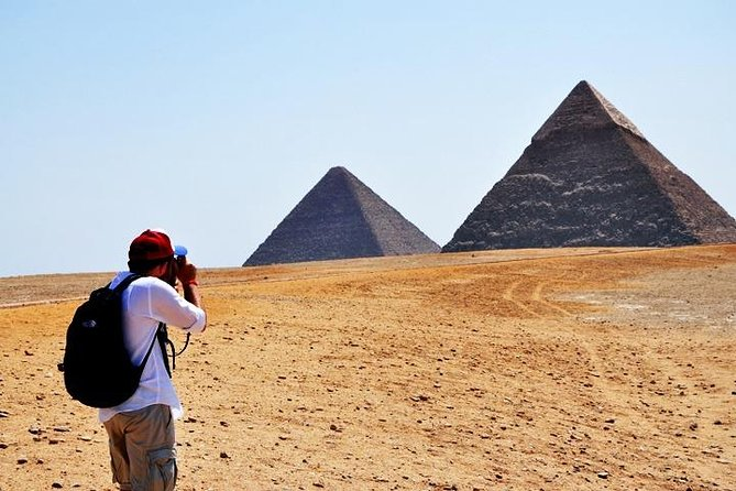 Half-Giza Pyramids and Sphinx with one Hour Camel Ride with competitive price