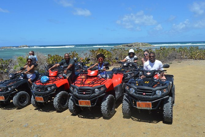 Half-Day ATV Adventure Tour of St.Martin with Guide and Pickup