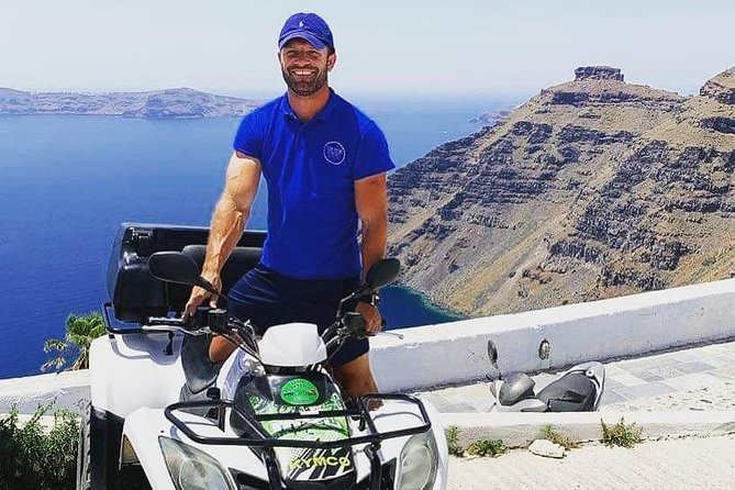 Cruise through the magical villages of Santorini on our ATVs, Scooters, or Cars photo 9