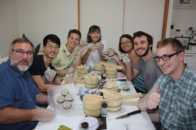 Sushi-Making Experience with English-Speaking Professional