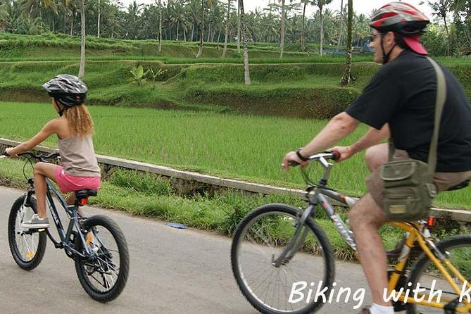 Bali Countryside Cycling Tour Private Family - Private Transport