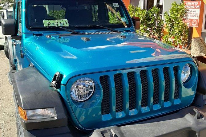 Private Jeep Wrangler in Sint Maarten