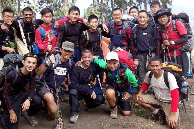Mount Rinjani Crater Rim Trek 2 Days 1 Night Sharing Tour