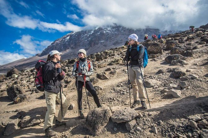 7 days kilimanjaro trek via Machame Route