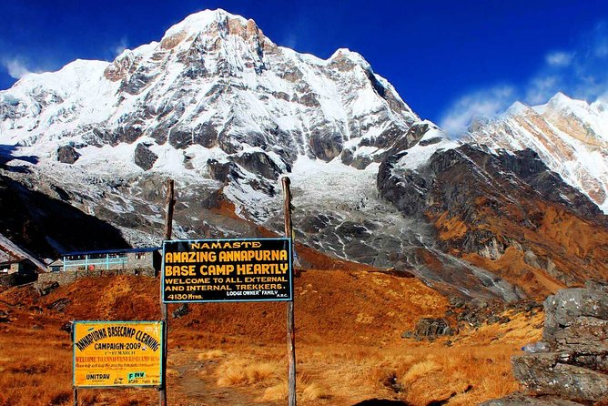 Annapurna Base Camp Trekking -14 Days