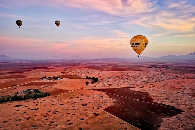 Hot Air Balloon Adventure over Marrakesh and Atlas