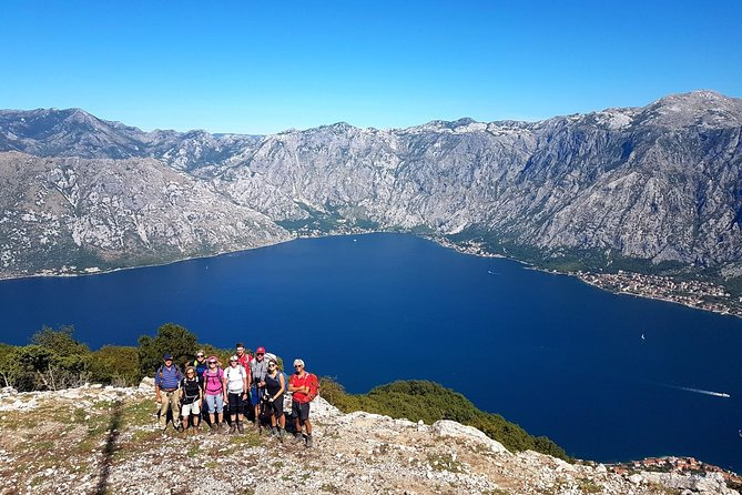Hiking Vrmac peninsula with best view on Kotor bay and visit Vrmac fort