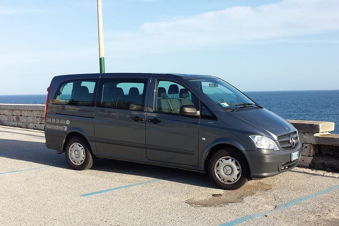 Transfer from Brindisi Airport to Otranto