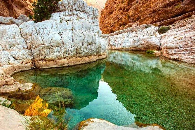 Wadi shab and Sinkhole adventure