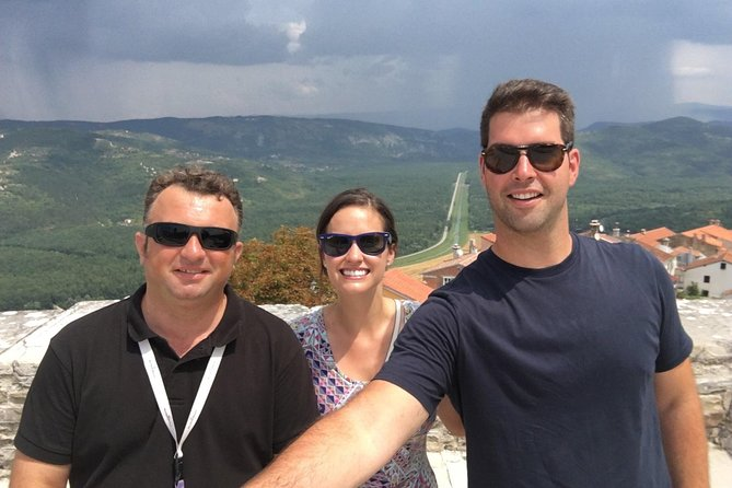 Istrian hill top cities tour with truffle and olive oil tasting