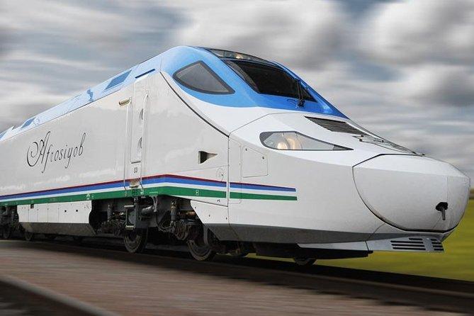 "Tashkent-Samarkand ""Afrasiyab"" high speed train tickets"
