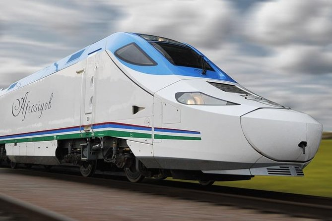 """Bukhara-Tashkent """"Afrasiyab"""" high speed train tickets"""