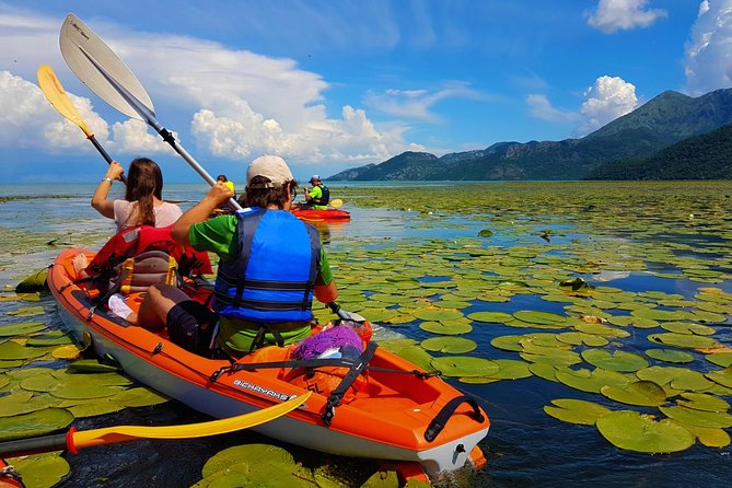 Kayak Skadar Lake from Virpazar and visit Grmozur and Lesendro fort