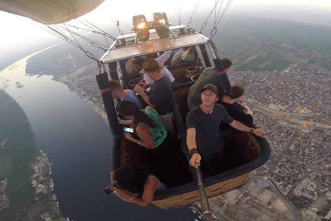 Hot Air Balloon Ride Over Luxor Monuments
