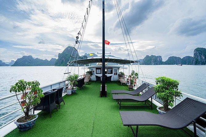Tour Hanoi - Halong Bay 6 Hours Cruising: Lunch+ Kayaking+ Free cool beer