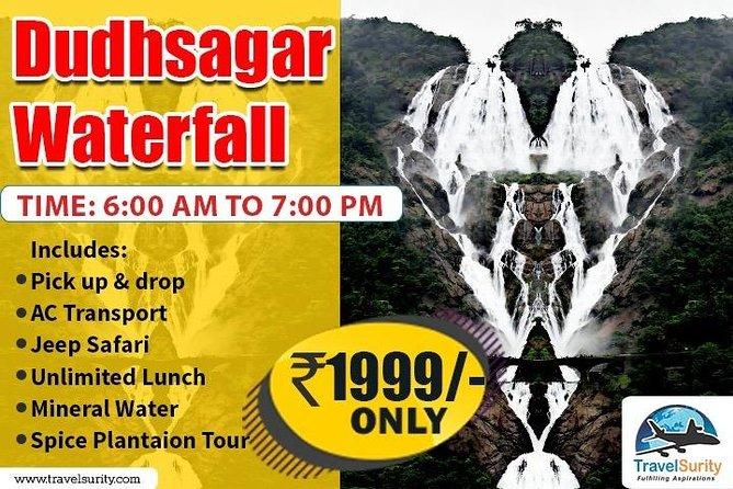 Doodhsagar Waterfall Sightseeing Full Day Tour ( 06 am - 05 pm )