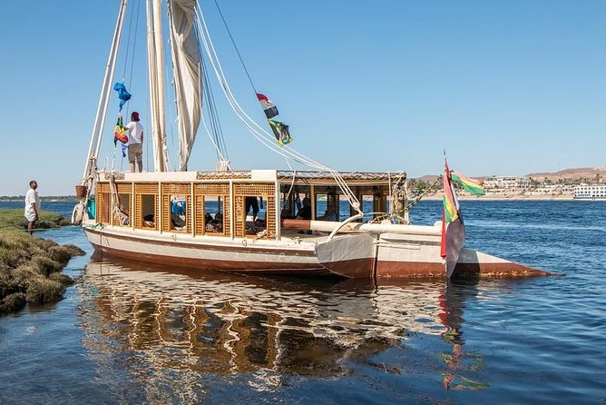 3-Night sailboat on the Nile river from Aswan to Edfu city